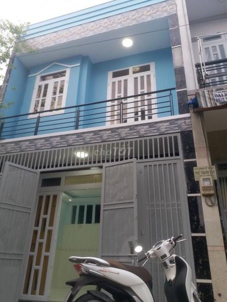 Chủ nhà bán nhà 1 trệt, 1 lầu, dtsd 52.5m2, hẻm Tô Ngọc Vân, Quận 12, giá 3.15 tỷ, 52.5m2, 3 phòng ngủ, 2 toilet