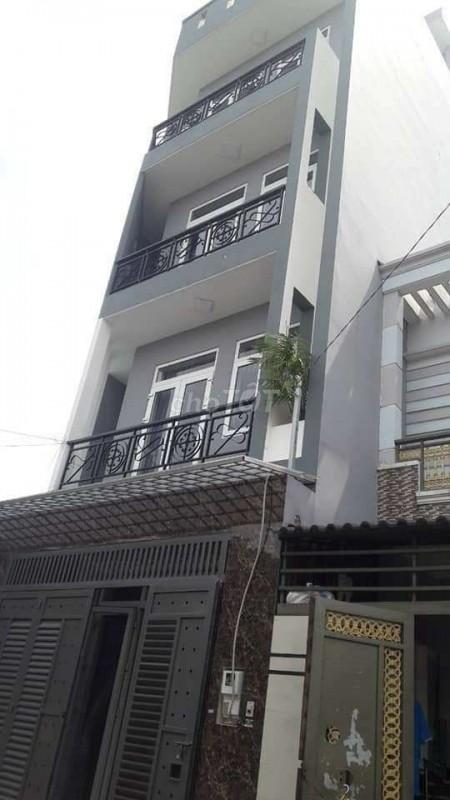 Nhà nguyên căn 5 tầng, dtsd 75m2, hẻm Lê Văn Khương, Quận 12, giá 5.2 tỷ, 75m2, 8 phòng ngủ, 6 toilet