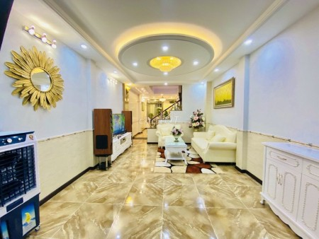 Có nhà rộng 60m2, 3 tầng, sân thượng, 4 PN, kiến trúc đẹp, hẻm 60 Lâm Văn Bền, Quận 7, giá 7.7 tỷ, 60m2, 4 phòng ngủ, 5 toilet