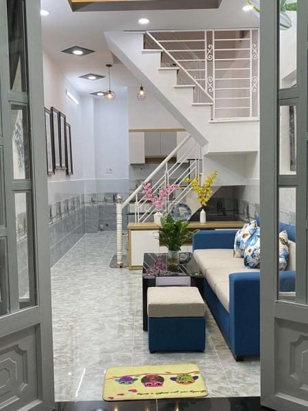 Chủ cần bán nhà 1 trệt, 1 lầu, sổ riêng, khu an ninh, hẻm 1806 Huỳnh Tấn Phát, Nhà Bè, giá 1.85 tỷ, 24m2, 4 phòng ngủ, 3 toilet