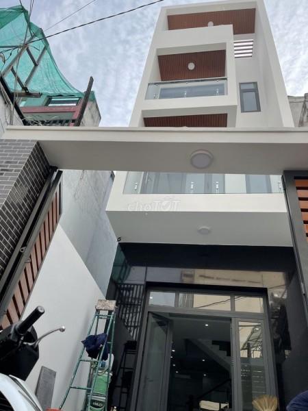 Nguyên căn hoàn công đầy đủ cần bán giá 7.1 tỷ, dtsd 80m2, 4 tầng, hẻm Nguyễn Văn Yến, Tân Phú, 80m2, 4 phòng ngủ, 5 toilet