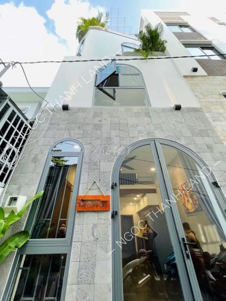 Nguyên căn xây lệch tầng, phong cách Minimalist Quận Gò Vấp, dtsd 36m2, giá 5.25 tỷ, 36m2, 3 phòng ngủ, 3 toilet