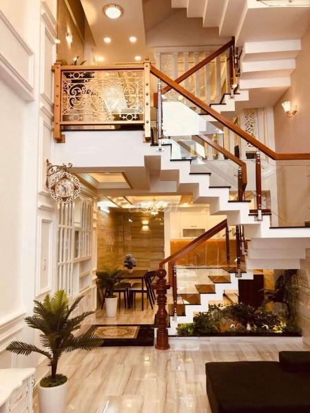 Nhà đang để trống cần bán 6.8 tỷ, dtsd 64m2, 5 tầng, hẻm Hương Lộ 2, Quận Bình Tân, LHCC, 64m2, 6 phòng ngủ, 6 toilet