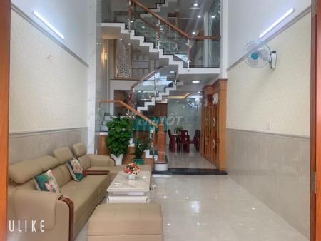 Lê Văn Khương, Quận 12 có nhà nguyên căn rộng 75m2 (5mx15m), 4 tầng, giá 4.45 tỷ, LHCC, 75m2, 4 phòng ngủ, 5 toilet