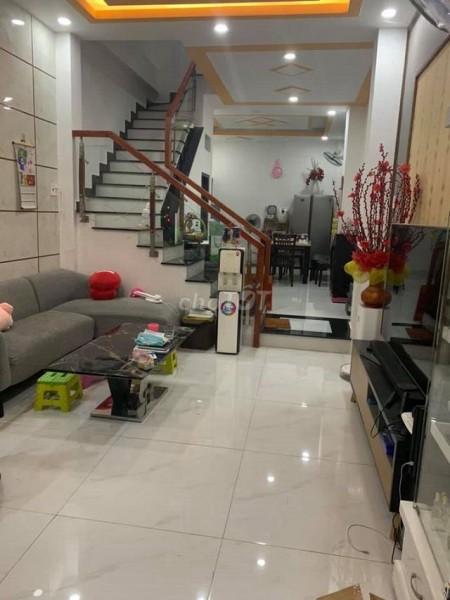 Nhà rộng 46m2 (4mx11.5m), nguyên căn còn mới, 2 tầng, hẻm Lạc Long Quân, Tân Bình, giá 4.3 tỷ, 46m2, 2 phòng ngủ, 2 toilet