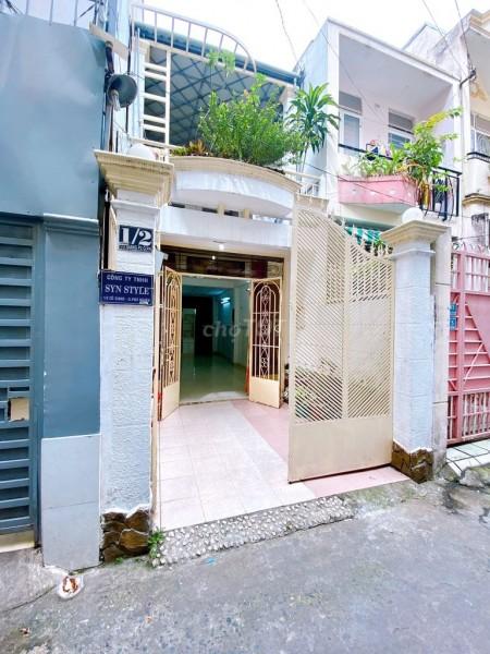 Cần tiền trang trải nên bán nguyên căn rộng 56m2, 1 trệt, 1 lầu, hẻm Cô Giang, Phú Nhuận, giá 7.5 tỷ, 56m2, 3 phòng ngủ, 3 toilet