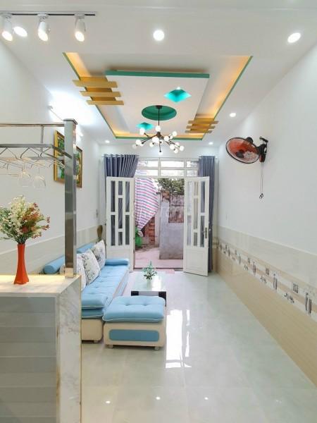 Nhà nguyên căn hẻm Huỳnh Tấn Phát, Nhà Bè cần bán nhanh giá 1.75 tỷ (thương lượng), dtsd 30m2, 30m2, 4 phòng ngủ, 3 toilet