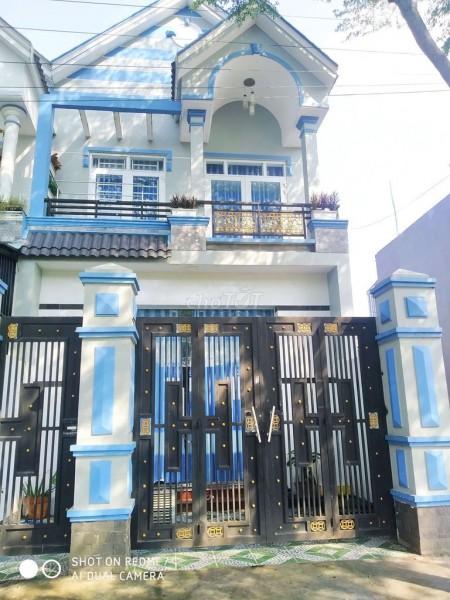 Hẻm Huỳnh Văn Trí, Bình Chánh cần bán nhà nguyên căn 100m2, vay ngân hàng, giá 1.5 tỷ, LHCC, 100m2, ,