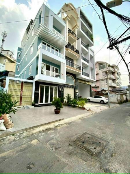 Bán nguyên căn chính chủ 5 tầng, dt 50m2, khu dân cư, giá 10.9 tỷ, mt Lê Trực, Bình Thạnh, 50m2, 4 phòng ngủ, 5 toilet