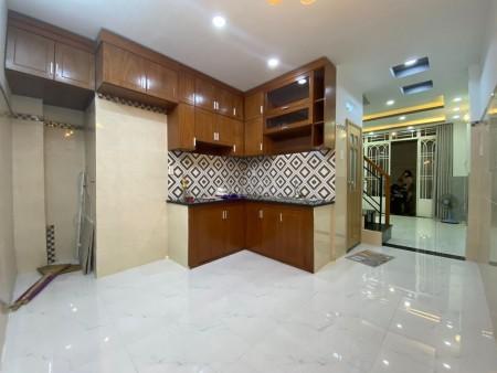 Nguyên căn hẻm Nguyễn Khuyến, Quận Bình Thạnh, dtsd 30m2, giá 4.3 tỷ, đúc bê tông, 30m2, ,
