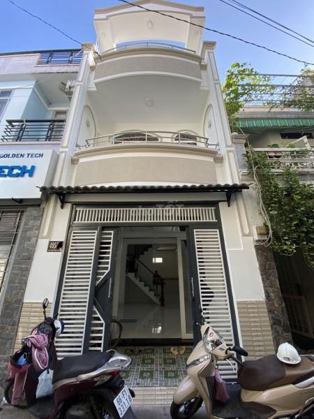 Hẻm Nơ Trang Long, Bình Thạnh cần bán nhà rộng 50m2, kiên cố, 4 PN, hướng Nam, giá 6.59 tỷ, 50m2, 4 phòng ngủ, 3 toilet