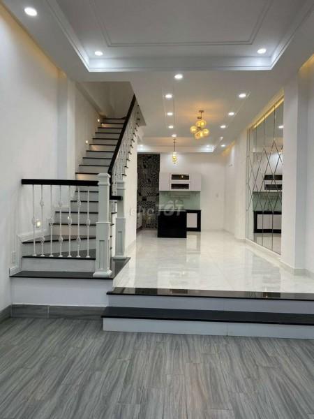 Cần tiền bán nhà rộng 56m2, khu dân cư cao cấp, 4 tầng, đường Sinco, Quận Bình Tân, giá 5.3 tỷ, 56m2, 4 phòng ngủ, 4 toilet