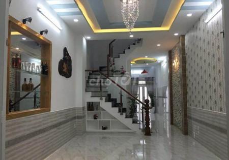 Nhà rộng 51m2, 4 tầng, chính chủ cần bán nhanh, hẻm Nguyễn Thị Đặng, Quận 12, giá 3.2 tỷ, 51m2, 4 phòng ngủ, 3 toilet
