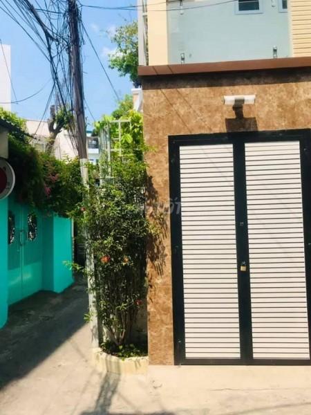 Hẻm Nguyễn Văn Trỗi, Quận Phú Nhuận 1 trệt, 1 lầu, còn mới, nở hậu, dtsd 48m2, giá 5.9 tỷ, 48m2, 3 phòng ngủ, 2 toilet