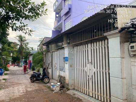 Bán nhà nguyên căn 250m2 (10x25), giá 7.68 tỷ, an ninh, hẻm Vườn Lài, Quận 12, LHCC, 250m2, ,