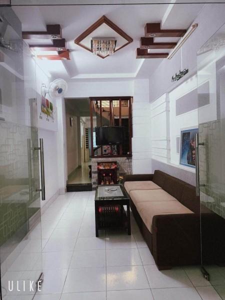 Nhà Quận Tân Phú, 1 trệt, 2 lầu đúc kiên cố, giá 4.3 tỷ, thương lượng, lh 0972616861, 100m2, 3 phòng ngủ, 2 toilet