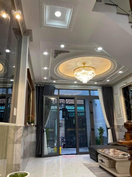 Bán nhà chính chủ dtsd 56m2 (4.3x14m), 1 trệt, 1 lầu đúc, giá 4.25 tỷ, hẻm 1886 Huỳnh Tấn Phát, Quận 7, 56m2, 4 phòng ngủ, 3 toilet