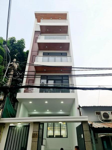 Chính chủ bán nhà rộng 100m2, 5 tầng, thang máy, giá 14.2 tỷ, mt đường 25, Quận 7, LHCC, 100m2, 6 phòng ngủ, 8 toilet
