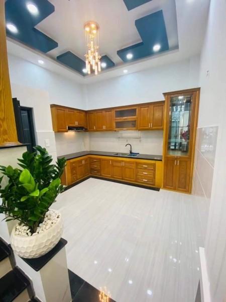 Cần bán nhà rộng thoáng 1 trệt, 1 lầu, giá 1.2 tỷ, dtsd 120m, kiến trúc đẹp, bao sang tên, 120m2, ,