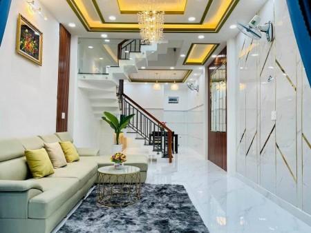 Chủ cần bán nhà rộng 48m2, 1 trệt, 1 lầu, kiến trúc đẹp, giá 4.38 tỷ, thương lượng, hẻm Quang Trung, Gò Vấp, 40m2, ,